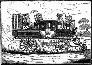 Mr. Gurney's New Steam Carriage 1827-12