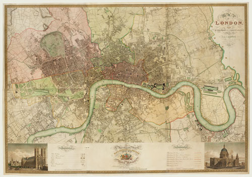 Greenwood's Map of London