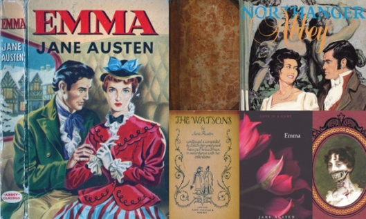 Jane Austen covers