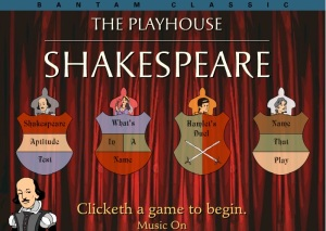 Shakespeare Games